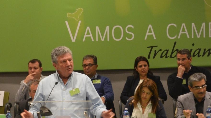 Nueva Canarias se reunió con la vicepresidenta y el lunes decidirá si deja pasar el techo de gasto
