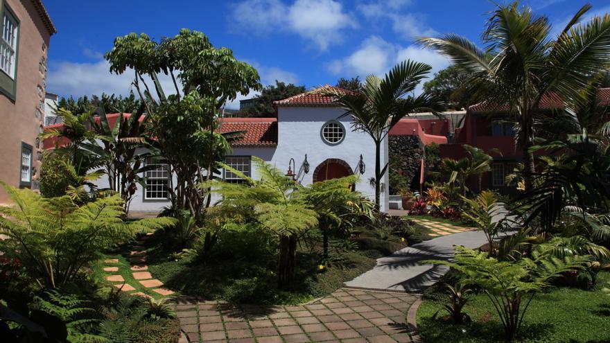 Hotel Hacienda de Abajo situado en el municipio de Tazacorte.