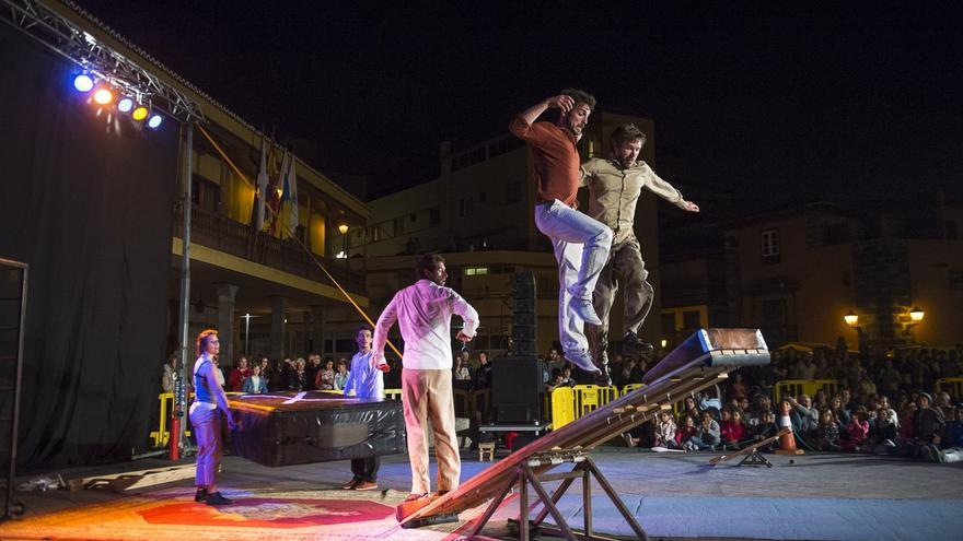 Actuación dentro del festival Mueca, en una imagen de archivo