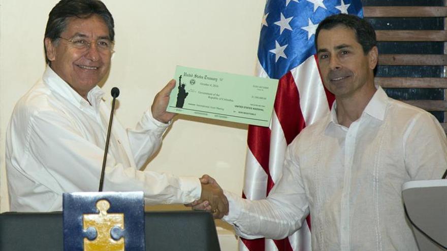 Colombia y EE.UU. firman acuerdo para combatir crimen organizado trasnacional