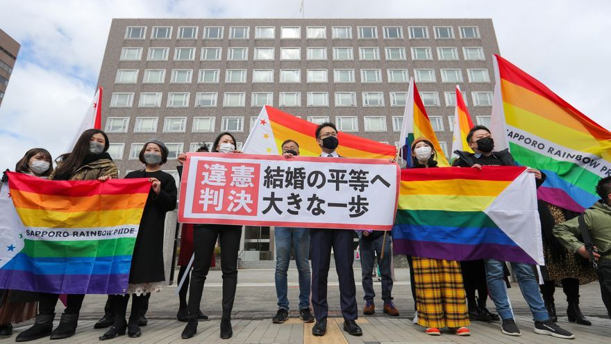 Japan court says that not allowing same-sex marriage is unconstitutional