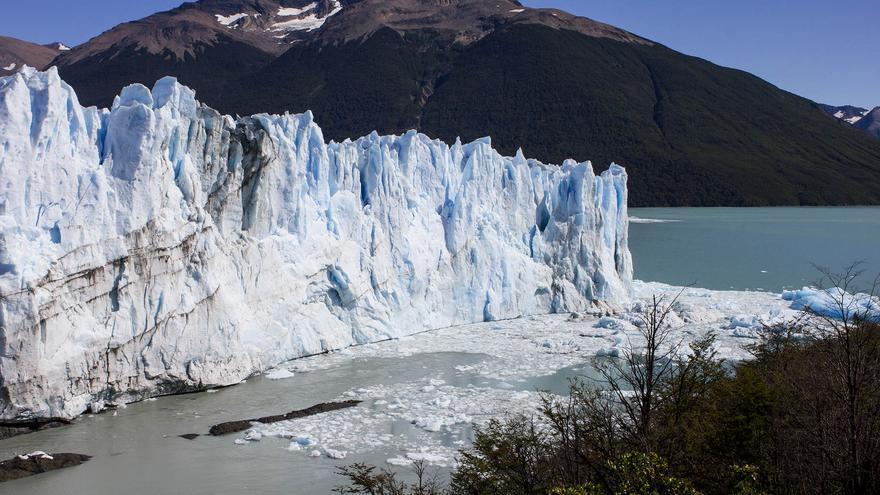 Frente del Glaciar Perito Moreno, el más visitado de Argentina.