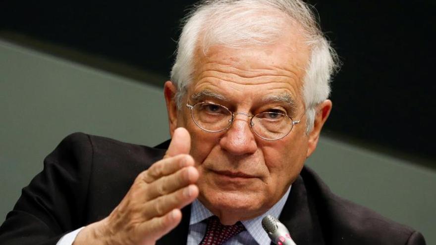 El l alto representante de la Unión Europea (UE) para Asuntos Exteriores, Josep Borrell.