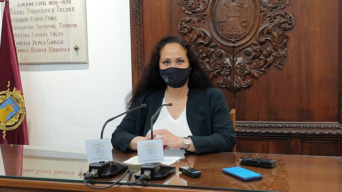 La concejala de Educación, Antonia Pérez