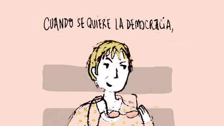 Ilustración '365 mujeres ilustradas'/ por Lucía Rovira