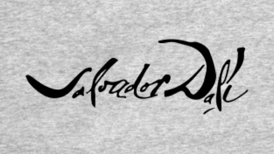 Firma de Dalí