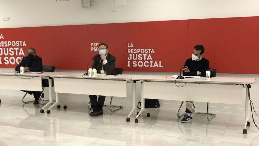 Ximo Puig en un acto del PSPV-PSOE.