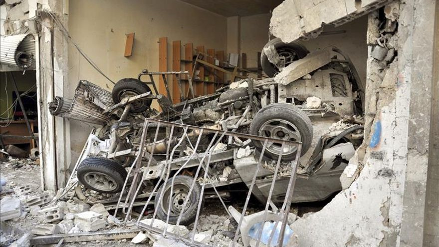Doce muertos y decenas de heridos en un triple atentado en el noreste sirio