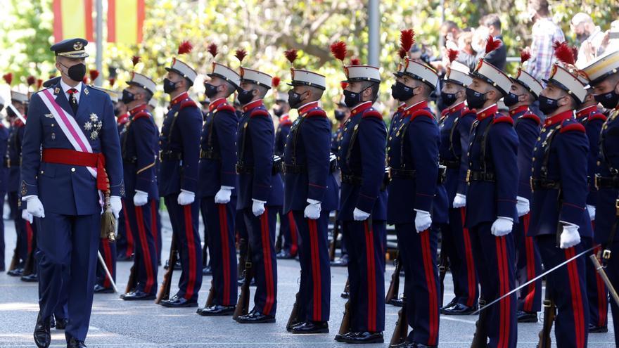 El Día de las Fuerzas Armadas vuelve a Madrid con un sencillo acto por la covid