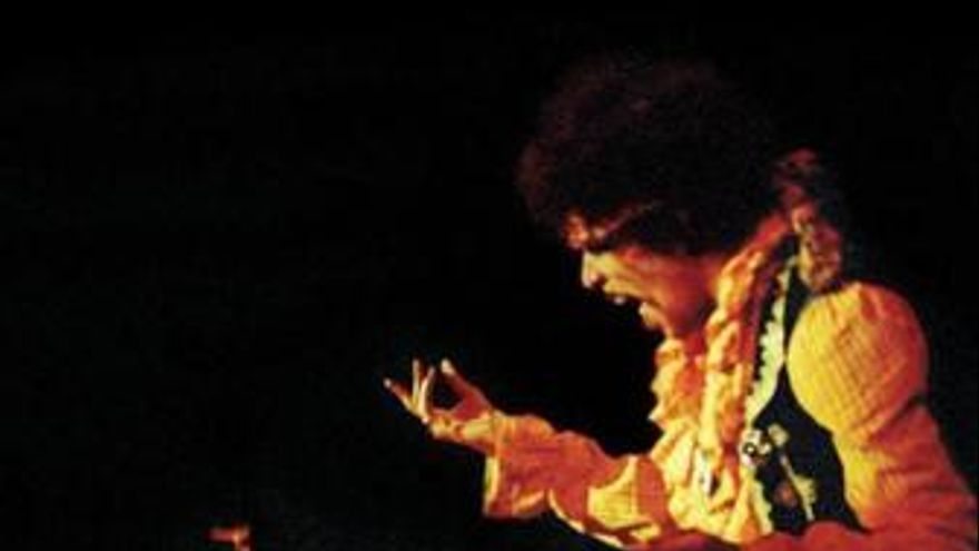Portada del disco 'Live in Monterrey' de Jimi Hendrix