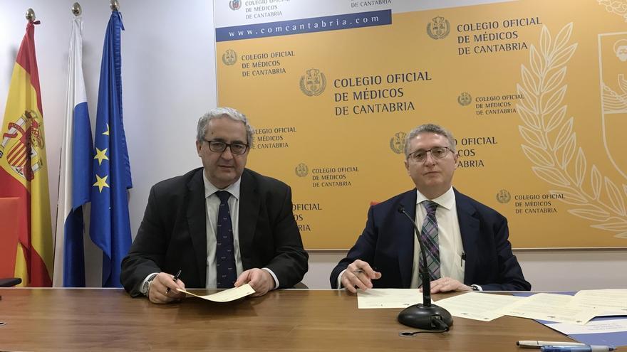 Colegio de Médicos y AECC firman un convenio de colaboración
