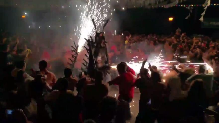 Imagen captada del vídeo de la cuenta de twitter de José Ramón Suárez.