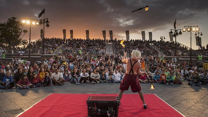 Espectáculo en el Festival Mueca.