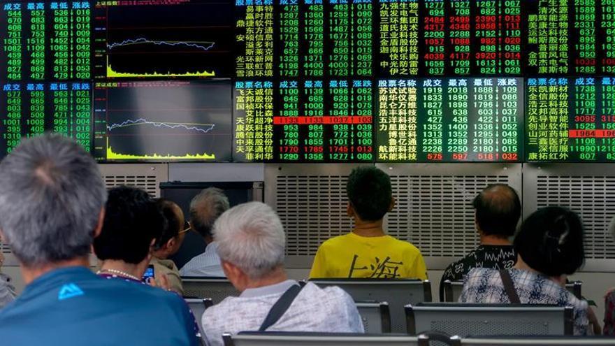 La Bolsa de Shanghái abre la sesión con ganancias del 0,29 %