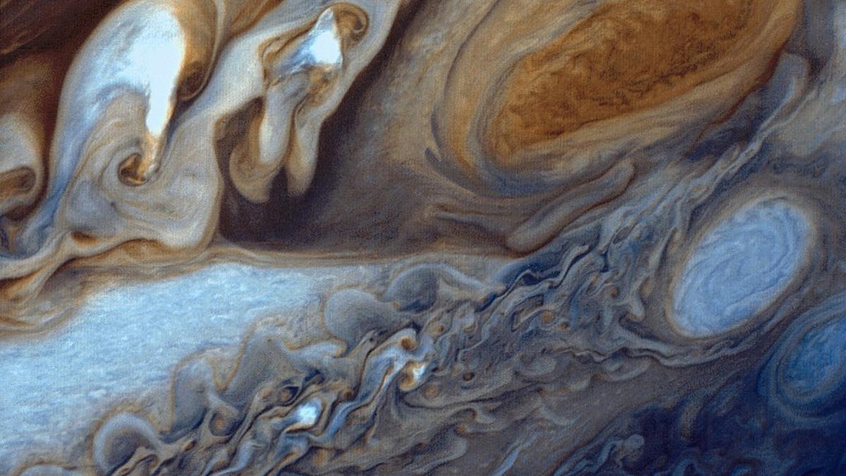 Júpiter, visto de la Voyager 1