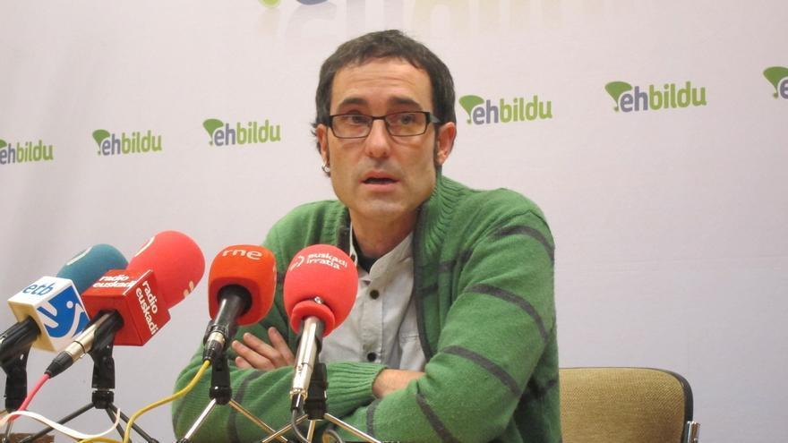 """Arzuaga (EH Bildu) acusa al Gobierno vasco de """"alimentar la política penitenciaria de excepción de Madrid"""""""