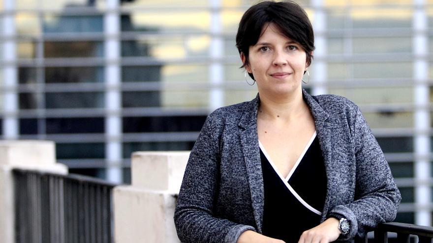 Laia Ortiz, diputada de ICV-EUiA en el Congreso y número 3 de la lista de Barcelona en Comú para la alcaldía de Barcelona. / Marta Jara