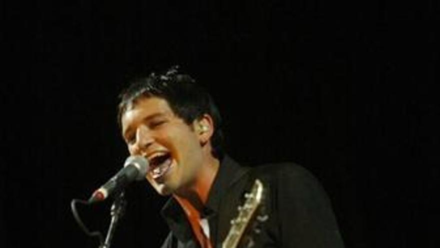 Cantante Placebo en Bilbao