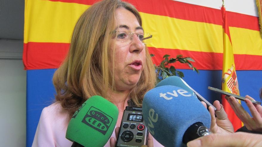 """Alba, """"satisfecha"""" con las sentencias sobre la ikurriña, dice que la Delegación velará para que """"se cumpla la ley"""""""