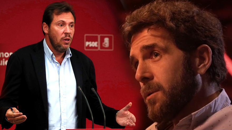 Óscar Puente, y Gonzo en su 'Salvados' con Iglesias