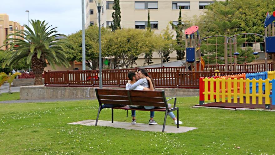 Parque de La Minilla. (ALEJANDRO RAMOS)