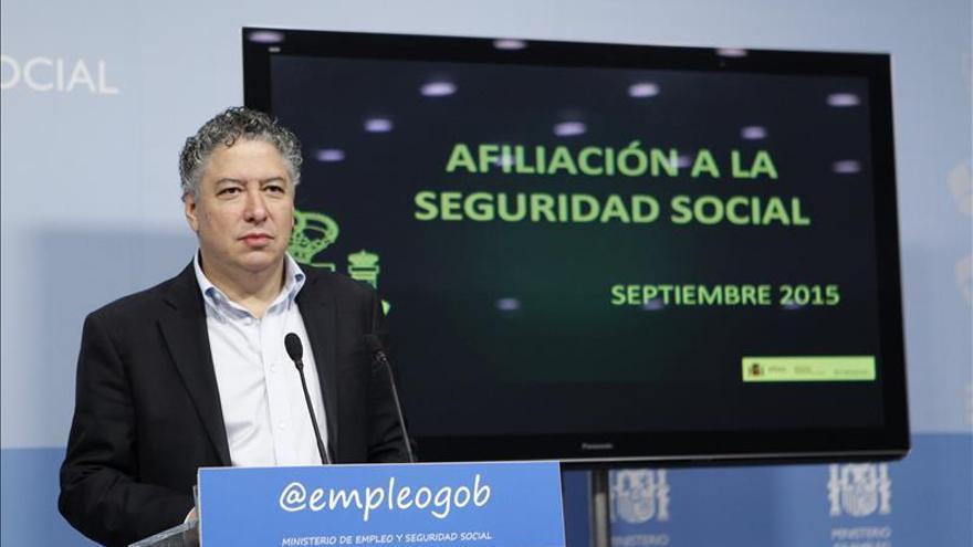 La Seguridad Social crece en 31.652 ocupados en octubre y suma 17.221.467