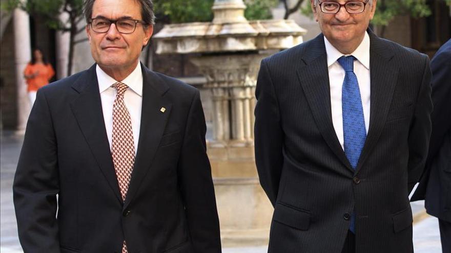 Artur Mas junto al fiscal general del Estado el pasado mes de julio / EFE