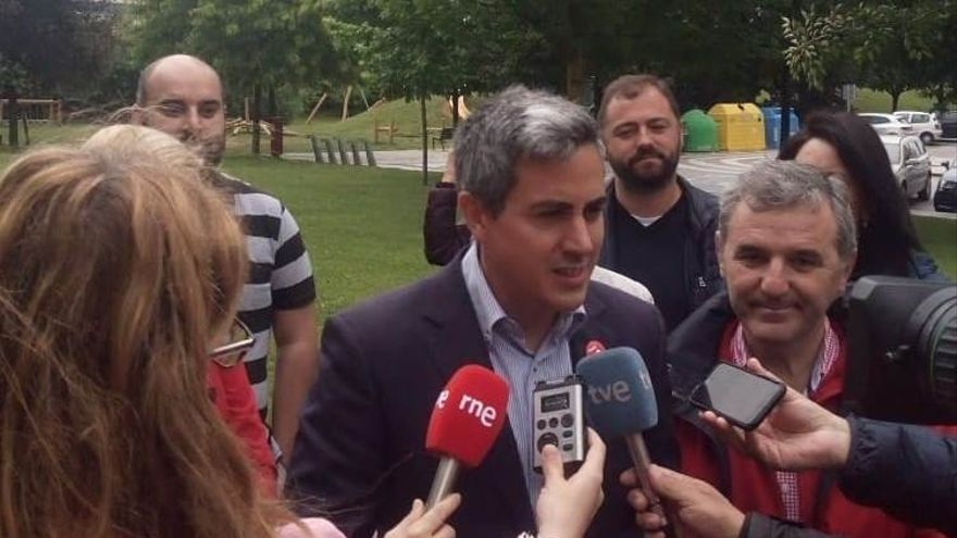 Zuloaga ha hecho balance de la campaña en Santa Cruz de Bezana, donde fue alcalde entre 2015 y 2018.