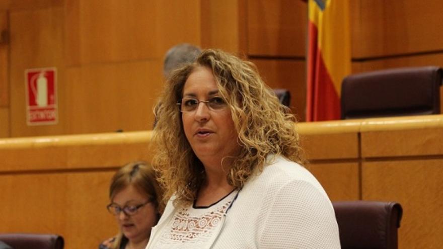 Auxiliadora Pérez, senadora del PP por Gran Canaria. (EFE)