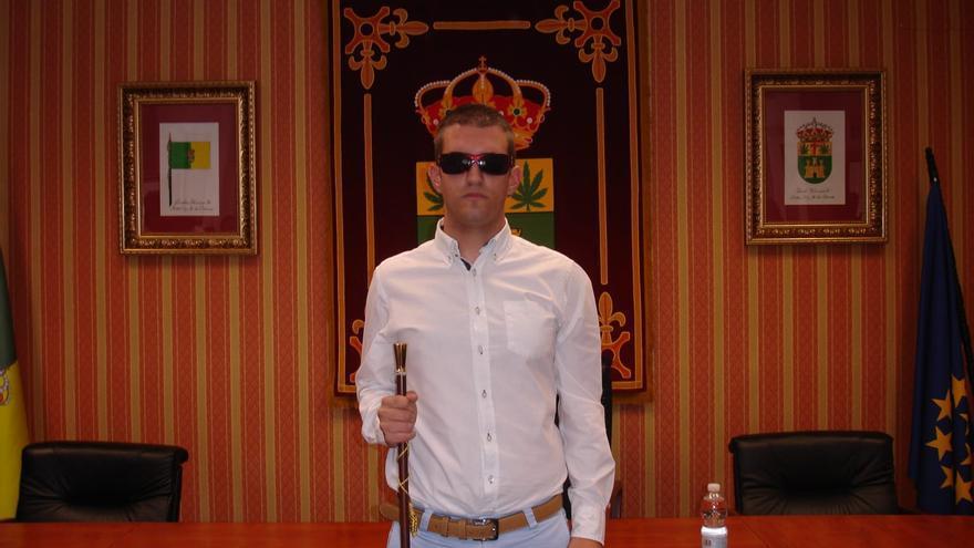 Isidro Sánchez, único alcalde electo ciego de Castilla-La Mancha
