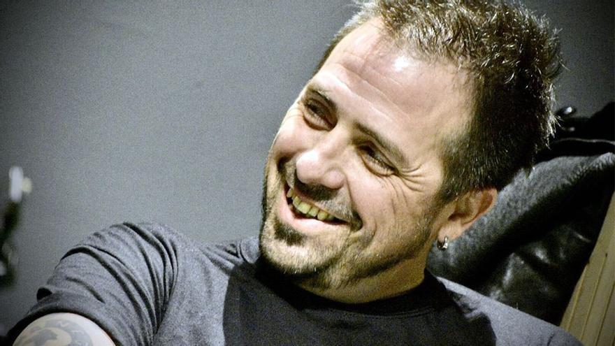 El escritor Kike Ferrari