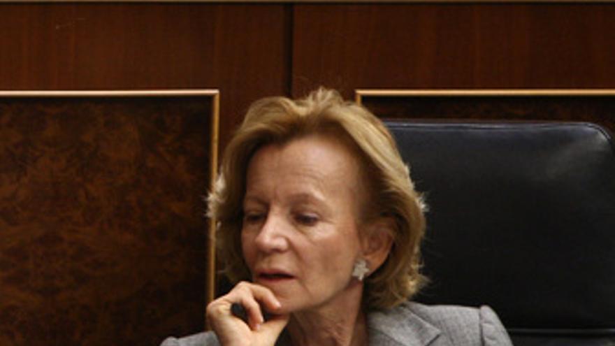 Vicepresidenta segunda del Gobierno, Elena Salgado