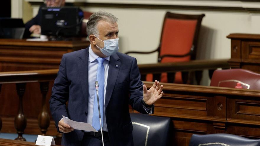 El presidente del Gobierno de Canarias descarta aplicar recortes en los servicios públicos en 2021