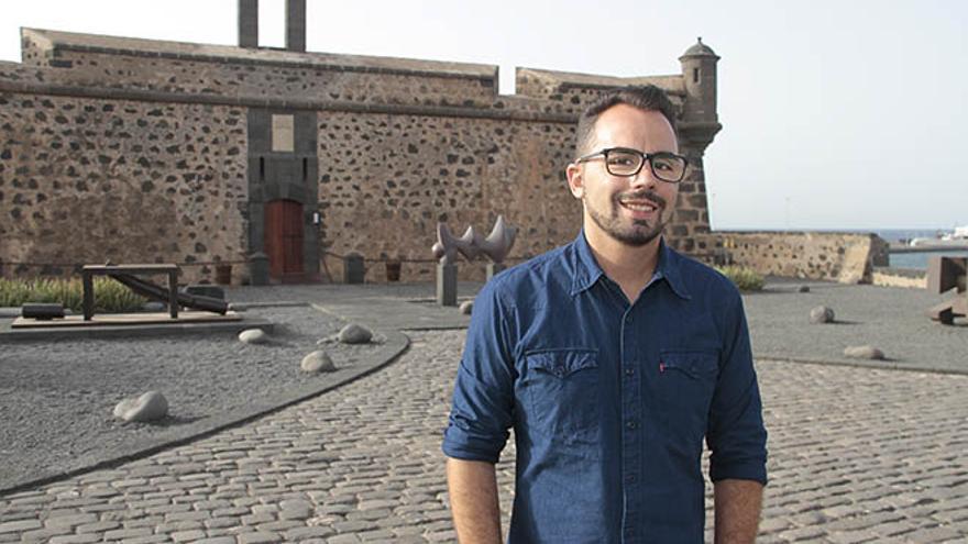 Echedey Eugenio, consejero de Turismo de Lanzarote. Foto: Felipe de la Cruz.