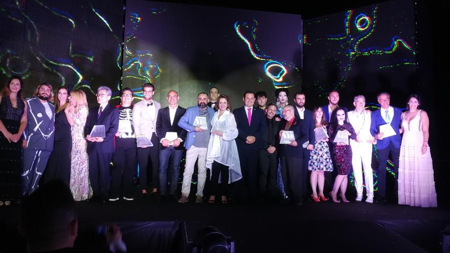 Foto de familia realizada en la gala de este viernes, tras la entrega de los premios Alan Turing