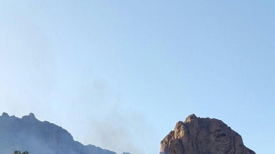 Conato de incendio entre las presas de Soria y Las Niñas