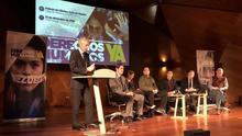 """Suárez Illana, Terol, Almeida y Esperanza Aguirre coinciden en un acto del PP """"por la libertad de Venezuela"""""""