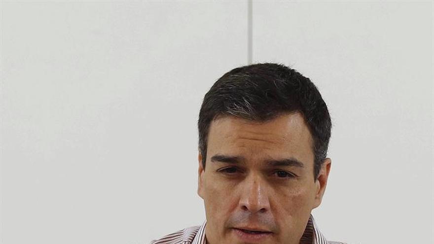 Sánchez continúa la ronda de contactos con sus dirigentes territoriales