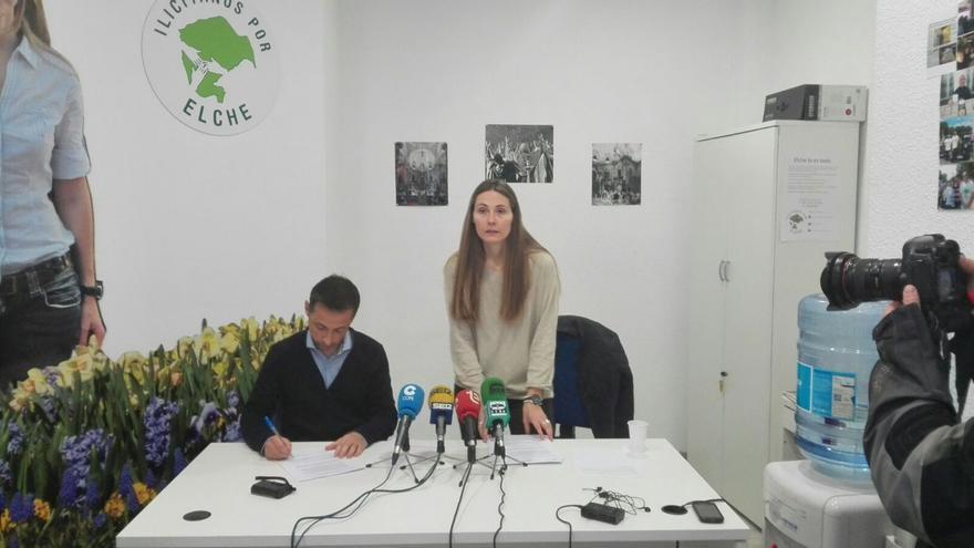 Fernando Durà y Cristina Martínez en la rueda de prensa ofrecida este viernes