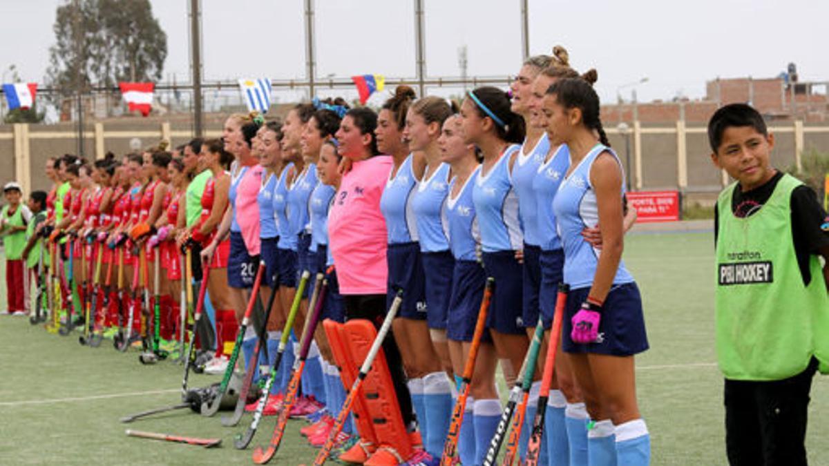 Las chicas del hockey uruguayo se organizaron contra el acoso.