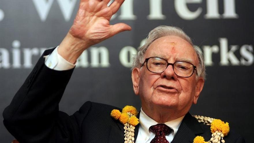 El multimillonario estadounidense Warren Buffett