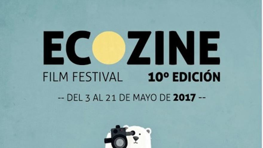 Imagen del cartel de la 10ª edición de Ecozine.