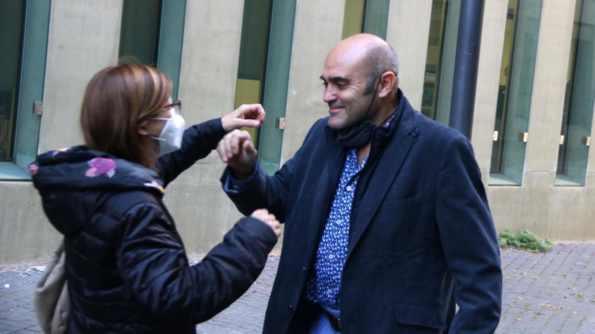 Vendrell, a su salida de la Ciudad de la Justicia el pasado 30 de octubre