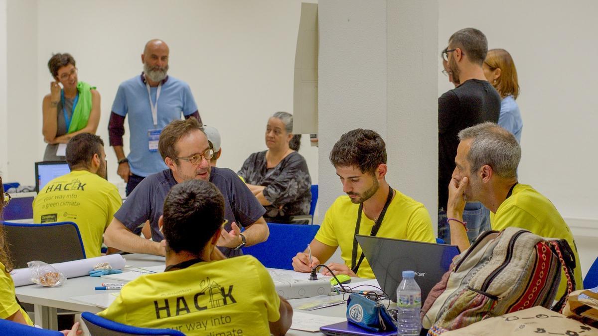 El evento Climathon celebrado en Gran Canaria en 2018