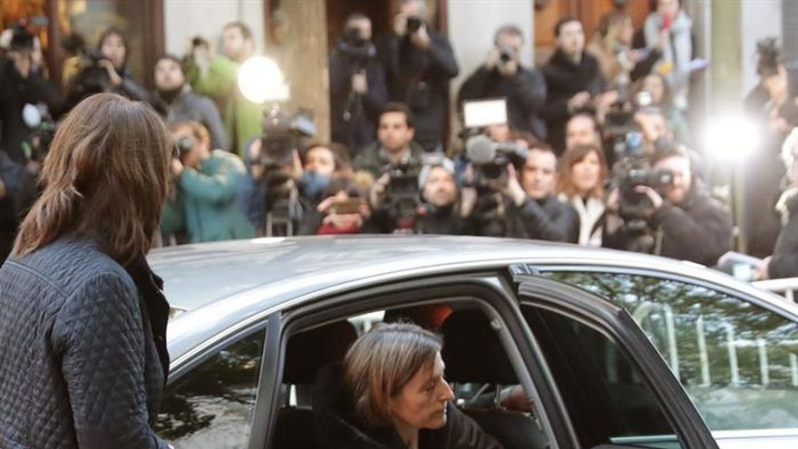 Forcadell se inclina por no repetir como candidata a las elecciones del 21D