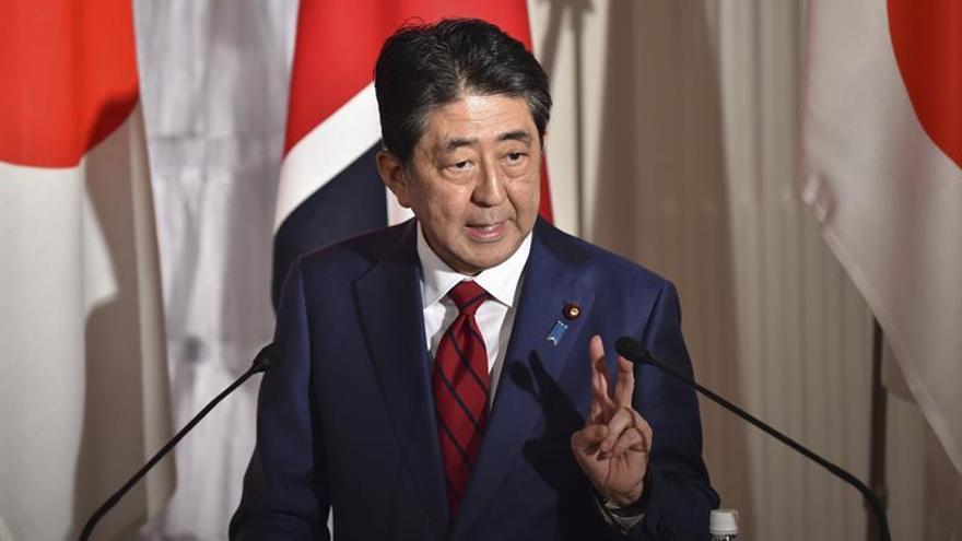 "Abe advierte a Corea del Norte de que no le espera un ""buen futuro"""