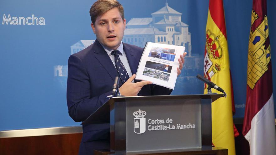 El consejero de Fomento, Nacho Hernando, en comparecencia parlamentaria