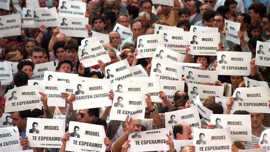 NNGG nombra presidente de honor a título póstumo a Miguel Ángel Blanco