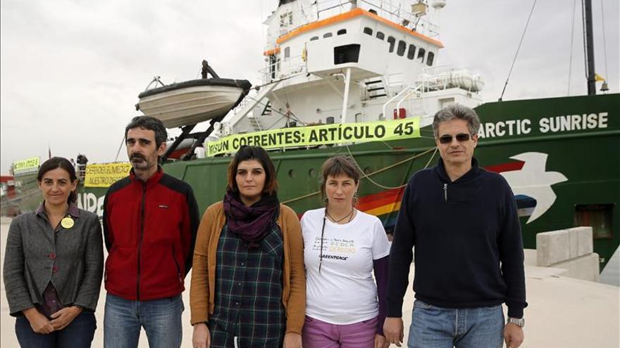 Greenpeace reclamará su derecho a defender el medioambiente en el juicio por Cofrentes