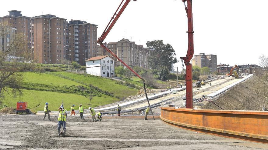Las obras de la conexión entre la S-20 y los Castros concluirán en veinte días